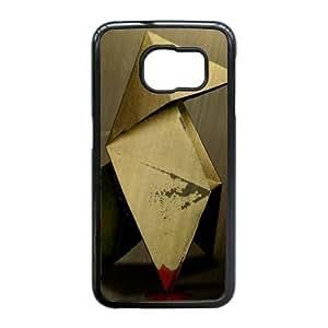 Heavy Rain vídeo Crane Juego Origami Quantic Dream 98482 Samsung Galaxy S6 Edge caja del teléfono celular funda Negro caja del teléfono celular Funda Cubierta EEECBCAAJ77807