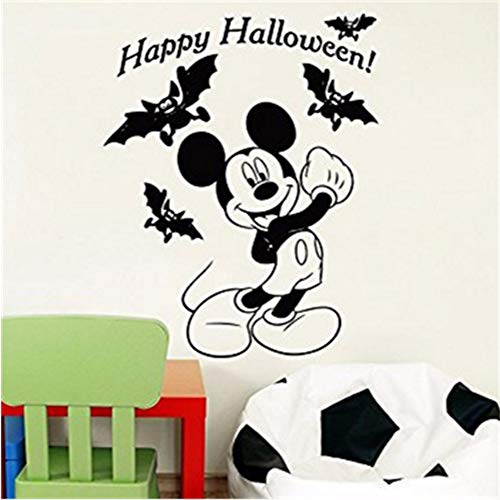 tfqddp DIY Cute Halloween Costume Kids Name Baby Wall Stickers for Kids Rooms Home Decoration Wall Stickers 58 X 85Cm -