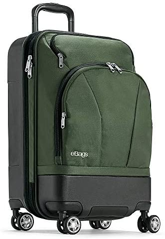 eBags Mother Lode 22 Carry-On Spinner Army Green