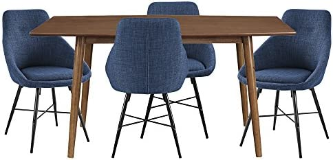WE Furniture Wood Dining Set