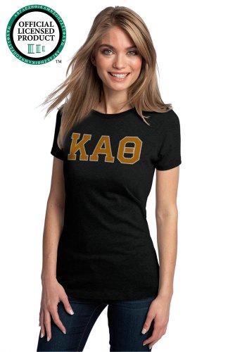 Ann Arbor T-shirt Co Women's KAPPA Theta Sorority T-Shirt