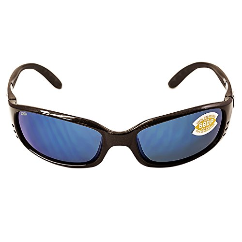 Costa MAR nbsp;Noir BR soleil Gunmetal pour DEL Frame de Lens Saumure 580P Neuf Homme Lunettes homme Mirror 11 Blue dwYqId