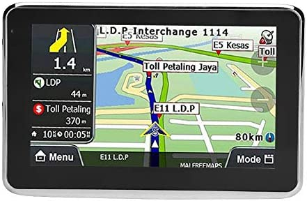 GPS - Navegación GPS del coche universal 5 pulgadas de pantalla táctil del coche navegador GPS de navegación 256MB 8GB MP3 FM del mapa de Europa 508: Amazon.es: Coche y moto