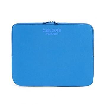 Tucano Second Skin Colore - Funda para portátil de 15.6 pulgadas, color azul