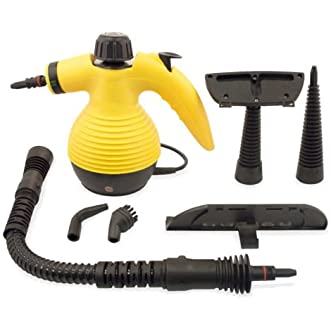 Multi Purpose Handheld Steam Cleaner 1050W Portable Steamer W/Attachments