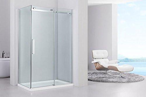 Completo ducha Miami cabina de ducha con puerta corredera, 80 x 100 x 190 cm Plus Ducha Taza con Nano revestimiento: Amazon.es: Hogar