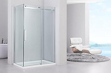 Douche Miami Cabine de douche avec porte coulissante avec revêtement ...