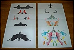 Rorschach test psychodiagnostics plates psychodiagnostik tafeln hermann rorschach - Test di rorschach tavola 1 ...