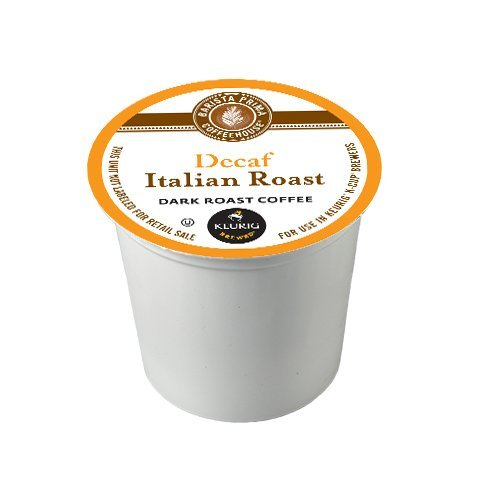 Barista Prima Decaf Coffee, Italian Roast, 120 Count by Barista