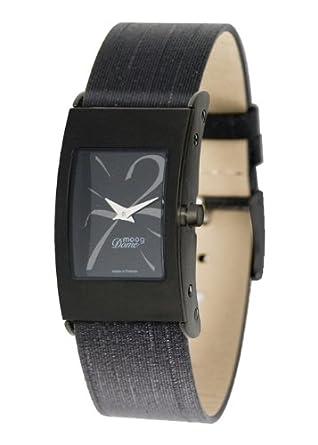 Moog Damen-Armbanduhr Analog Textil schwarz M41661-010
