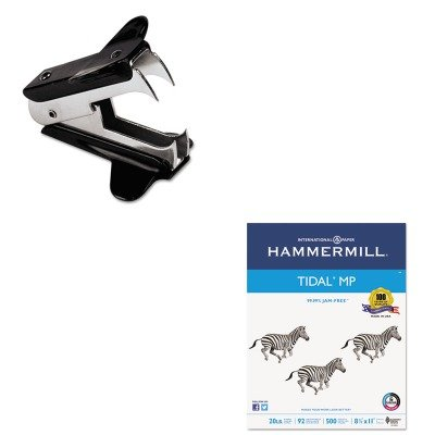 KITHAM162008UNV00700 - Value Kit - Hammermill Everyday Copy And Print Paper (HAM162008) and Universal Jaw Style Staple Remover (UNV00700)