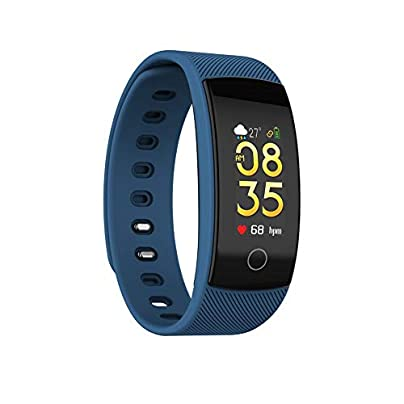 Waterproof Sports Watch Activity Tracker Smart Bracelet QS80 Plus Bluetooth Smart Watch Bracelet Heart Rate Blood Pressure Fitness Track Smart Wristband Compatible with iOS Android for Men Women Estimated Price £11.10 -