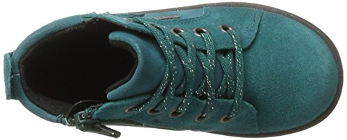 Superfit Mädchen Mercury Hohe Sneaker Grün (Emerald)