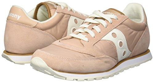 Women's Sneaker white Tan Saucony Jazz Lowpro wHEqtStp
