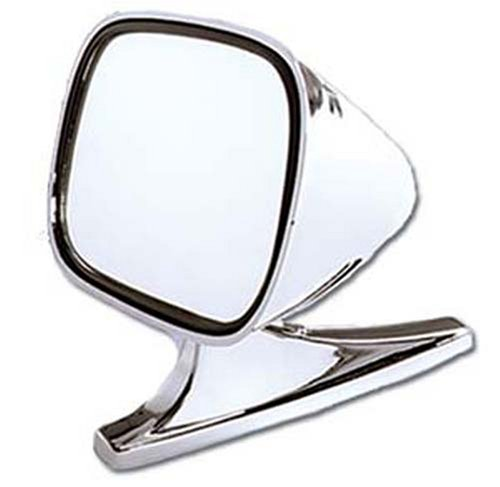 CIPA 19000 Dual Sport Chrome Car Side Mirrors (Pair)