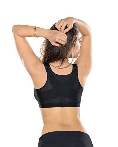 Leonisa Women s Posture Corrector Wireless Back Support Bra ... 2da48c734