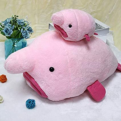 Amazon.com: TRATRIES 20/50Cm Funny Ugly Blobfish Plush Toy ...