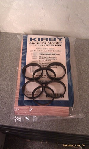 6 Belts 9 Sentria Micron Magic Kirby G3-6 UG Vacuum Bags BRAND NEW PRODUCT!!!!! (Kirby Ceiling Fan Attachment compare prices)