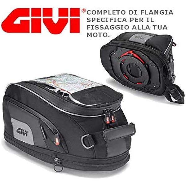 Bisaccia Liner Bagagli Borse Per Adattarsi Ducati Multistrada 1200 COPPIA ROSSO//NERO