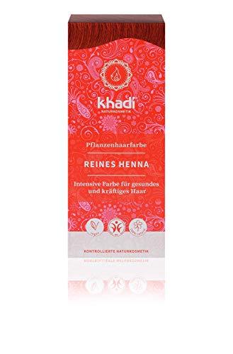 🥇 Khadi Henna Natural Pura 100Gr 1 Unidad 100 g