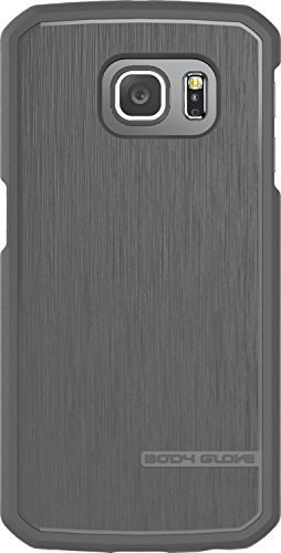 (Body Glove Satin-Gel Case for Samsung Galaxy S6 Edge+ (S6 Edge Plus Only) - Retail Packaging - Gray)