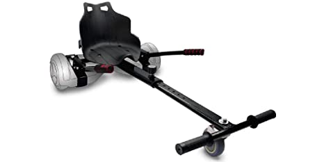 Intense Devices Hoverkart Silla para Patinete Electrico Self Balancing Compatible con Todos los tamaños (Negro)