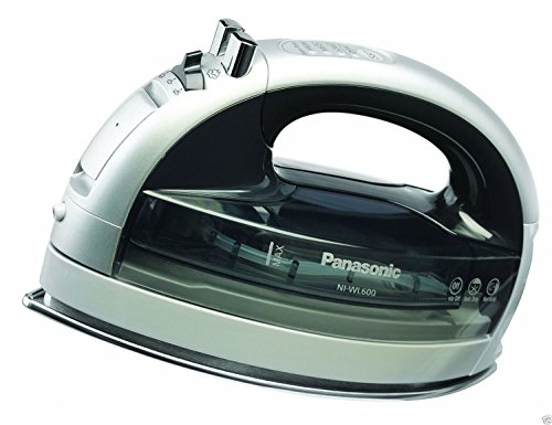NEW Panasonic 360 Freestyle Multi-Directional Cordless Steam/Dry Iron NI-WL600