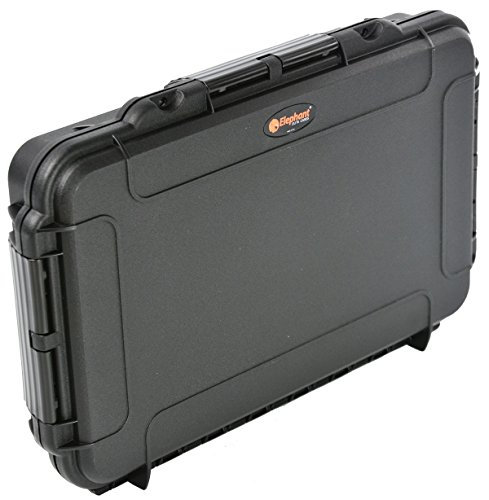 Home or Travel Cigar Humidor Waterproof dust-proof Cigar Case With Pressure Equalization Valve to Keep your cigars safe during Flight by Elephant Cases (Image #4)
