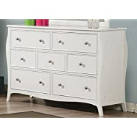 Coaster Home Furnishings 400563 Traditional Dresser, White
