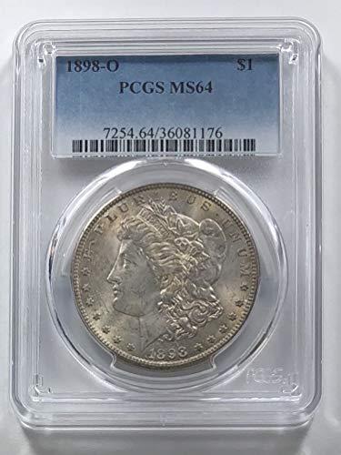 1898 O Morgan Silver Dollar Nice Tone Dollar MS-64 - Morgan Very Dollar Coin Nice