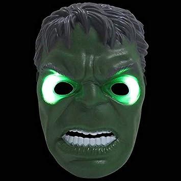 1x Super Hero Batman Figures LED Light Cosplay Mask Kid Party Toy Birthday Gift