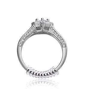 Amazon.com: GWHOLE Ring Size Adjuster with Silver