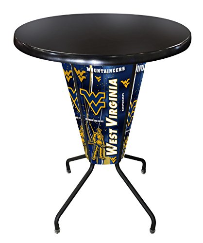Holland Bar Stool Co. Outdoor/Indoor LED Lighted West Virginia Pub Table