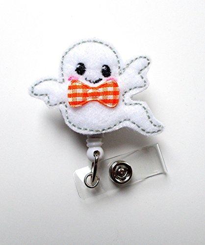 Baby Ghost - Name Badge Holder - Labor and Delivery Badge Reel - Nursing Badge - Teacher Badge - Nurses Badge - Halloween Badge - Ghost Badge - Holiday Badge - Badge Holder - Halloween Badges