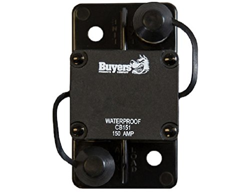 High-Amp Large Frame Circuit Breaker With Auto Reset 150 Amp