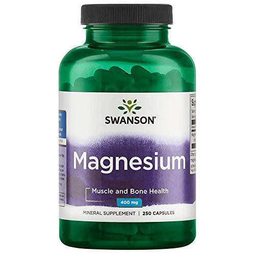Swanson Magnesium 200 Milligrams 250 Capsules