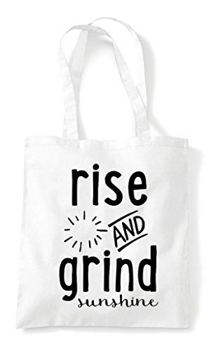 Grind Bag Tote White Sunshine And Shopper Rise RqIW15wW