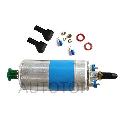 AUTOTOP New In-Line Electric Fuel Pump & Install Kit Fit Audi Ford Porsche 911 Mercedes-Benz Volkswagen Ferrari # 0580254910