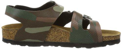 Birki's Ellice Bf - Zapatos de pulsera Unisex adulto Mehrfarbig (Camouflage)
