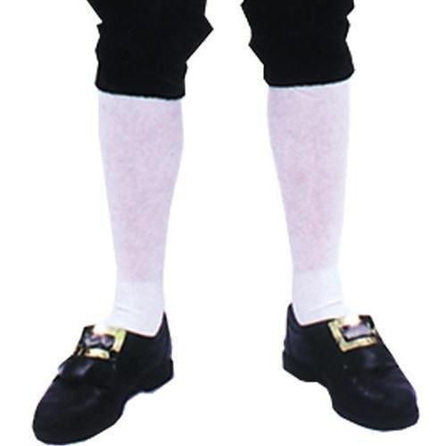 Morris Costumes Socks Colonial Mens Pair Xl