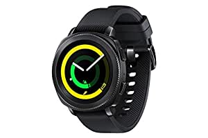 Samsung Gear Sport Smart Watch - Black, SM-R600NZBAKSA
