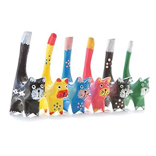 (Serendipity Decorative Tiny Cat Figurines, 4.3