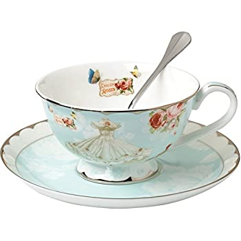 Amazon com | Royal Albert Old Country Roses Teacup & Saucer