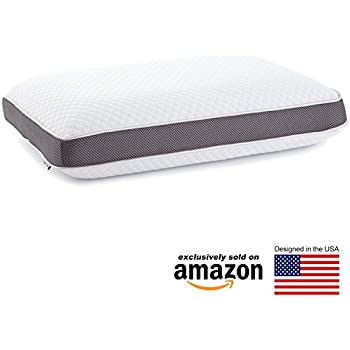 Memory Foam Pillow - Dual Option Cooling-Gel by Perfect Cloud - Sleep Easy, Wake Up Rested With A Supportive And Cooling Pillow