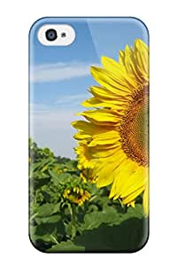 Mary P. Sanders's Shop Hot New Premium Flip Case Cover Sunflowers Nature Skin Case For Iphone 4/4s