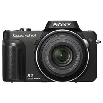 Sony Cybershot DSC-H10 8.1MP Digital Camera with 10x Optical Zoom with Super Steady Shot