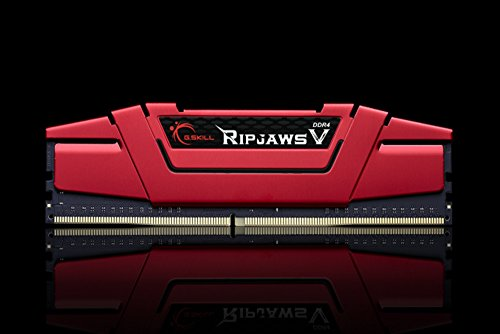 G.SKILL Ripjaws V Series 16GB (2 x 8GB) 288-Pin DDR4 2400 (PC4 19200) Intel Z170/X99 Desktop Memory F4-2400C15D-16GVR by G.Skill (Image #1)