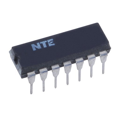 NTE Electronics NTE7495 Integrated Circuit TTL-4-Bit Parallel-Access Shift Register, 5.5V, 14-Lead DIP Package