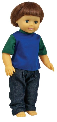 Get Ready Kids Caucasian Boy Doll ()