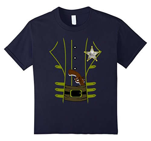 Kids Western Sheriff Halloween Costume Tshirt - Men Women Youth 12 (Country Girl Halloween Costumes Ideas)